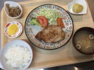 豚肉ソテーバルサミコ酢と玉葱のソース