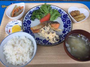 鮭のきのこタルタルソース